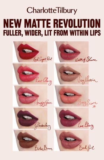 Alternate Image 2  - Charlotte Tilbury Matte Revolution Luminous Modern-Matte Lipstick