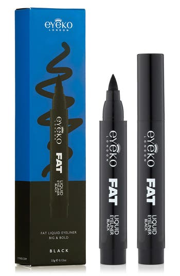 Fat Liquid Eyeliner,                             Alternate thumbnail 2, color,                             Black
