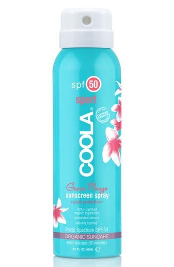 COOLA<sup>®</sup> Suncare Guava Mango Eco-Lux Sport Sunscreen Spray SPF 50,                             Alternate thumbnail 2, color,                             No Color