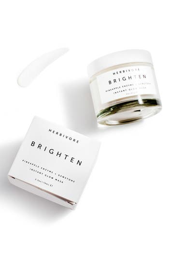 Alternate Image 4  - Herbivore Botanicals Brighten Pineapple Enzyme + Gemstone Instant Glow Mask
