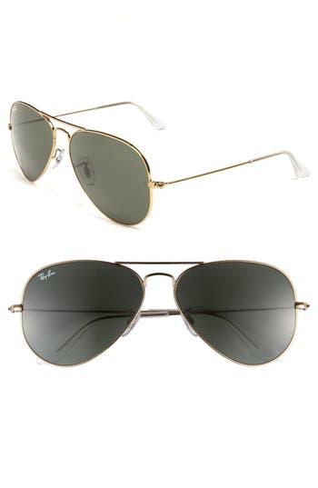 16e1a9eae5 ray ban original aviator 58mm sunglasses. NORDSTROM