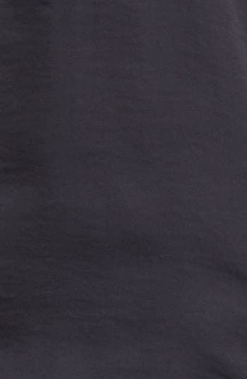 Alternate Image 3  - Vince Camuto Zip Placket Mixed Media Top (Online Only)