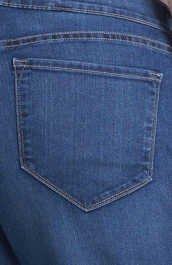 Alternate Image 3  - NYDJ 'Sarah' Bootcut Jeans (Plus Size)