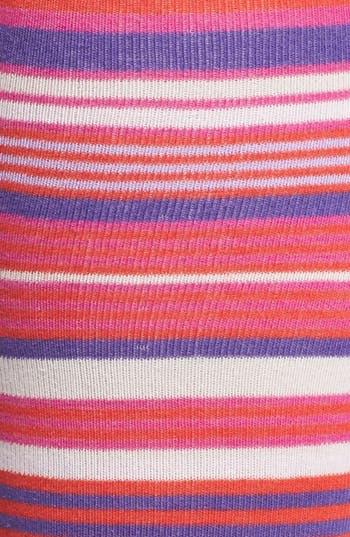 Alternate Image 2  - kate spade new york microstripe knee socks