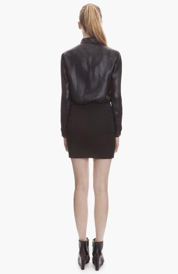 Alternate Image 2  - sandro 'Jacinthe' Jacquard Miniskirt