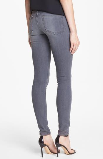 Alternate Image 2  - edyson 'Sloan' Skinny Jeans (Grey Wash)