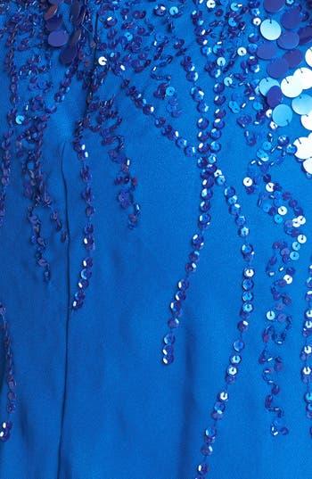 Alternate Image 3  - Faviana Embellished Chiffon Dress