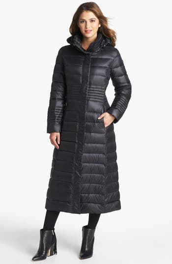 Calvin Klein Lightweight Long Down Coat Nordstrom