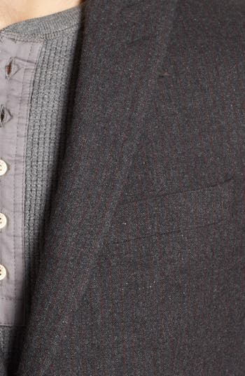 Alternate Image 2  - John Varvatos Star USA Stripe Wool Blend Sportcoat