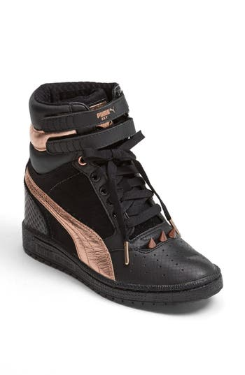 PUMA 'Sky Wedge Rosegold' Sneaker (Women) | Nordstrom