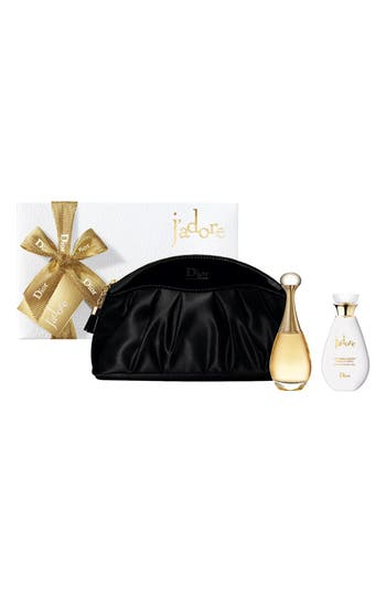 Alternate Image 2  - Dior 'J'adore' Plisse Pouch Set (Limited Edition)