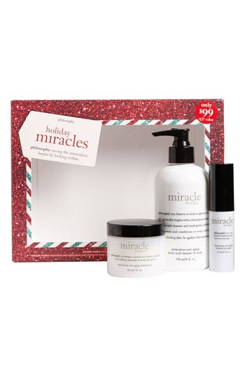 Main Image - philosophy 'holiday miracles' gift set ($157 Value)