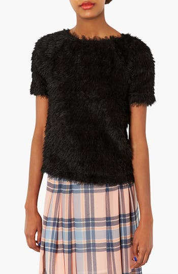 Alternate Image 1 Selected - Topshop Fluffy Tee