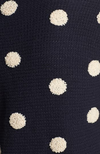 Alternate Image 3  - Elodie Embroidered Dot Sweater (Juniors)