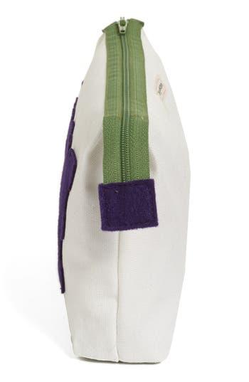 Alternate Image 2  - Alexandra Ferguson 'Luxe' Fabric Cosmetics Pouch