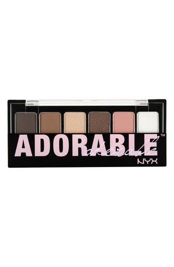 Alternate Image 1 Selected - NYX 'Adorable' Eyeshadow Palette