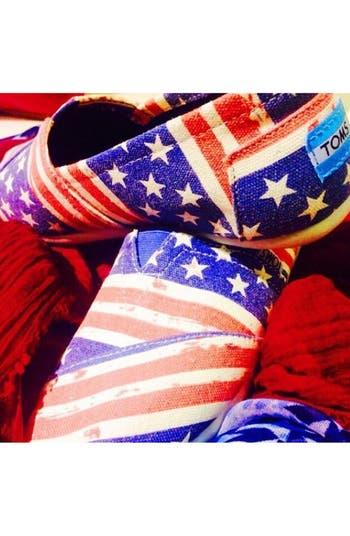 Alternate Image 5  - TOMS 'Classic - American' Slip-On (Women)