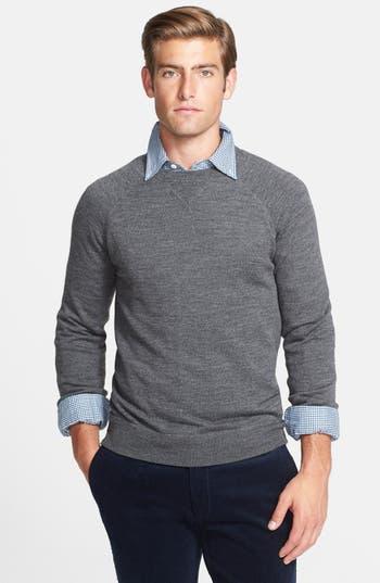 Polo Ralph Lauren Raglan Merino Wool Crewneck Sweater