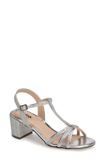 pink paradox london Sadie T-Strap Sandal (Women)