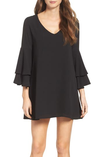 Mary & Mabel Bell Sleeve Dress