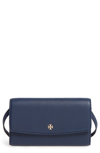 Tory Burch Leather Wallet Crossbody Bag