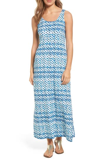 Tommy Bahama Dot Matrix Cotton Maxi Dress