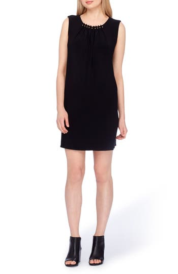 Tahari Embellished Sheath Dress