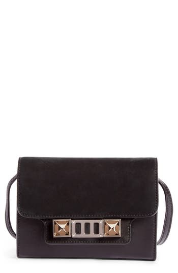 Proenza Schouler PS11 Calfskin Leather Crossbody Wallet