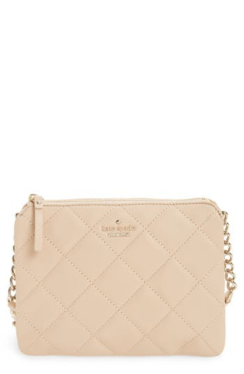 kate spade new york emerson place harbor leather crossbody bag