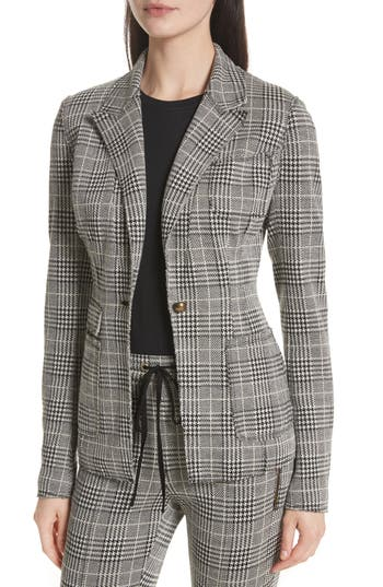 Tracy Reese Plaid Blazer