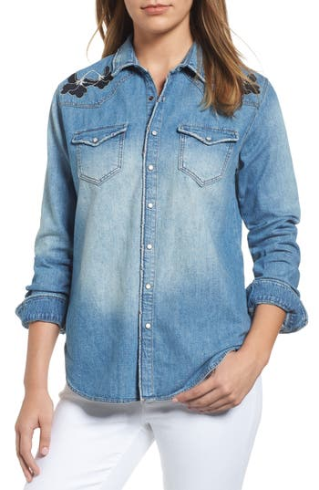 Mavi Jeans Vintage Rose Em..