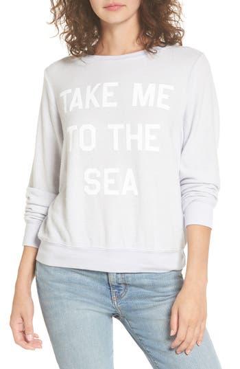 Dream Scene Take Me to the Sea Sweatshirt