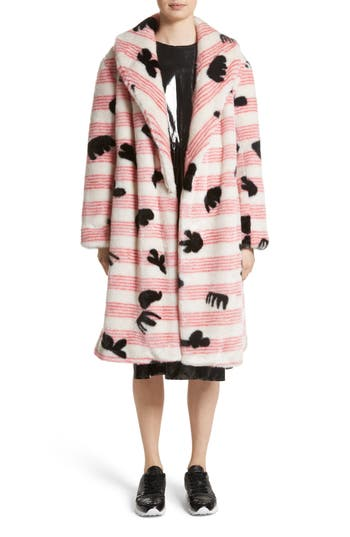 Shrimps Elspeth Faux Fur Coat (Nordstrom Exclusive)