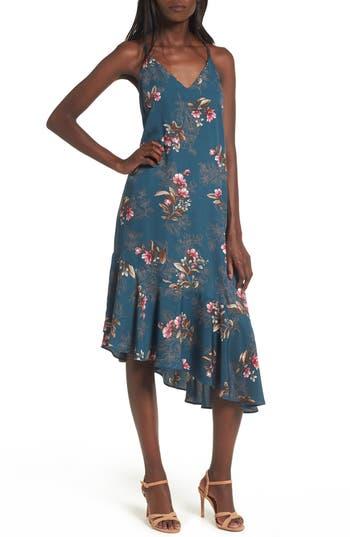 Soprano Asymmetrical Midi Dress