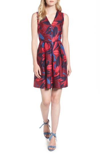 Draper James Autumn Bloom Love Circle Dress