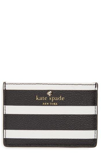 kate spade new york hyde lane stripe card case