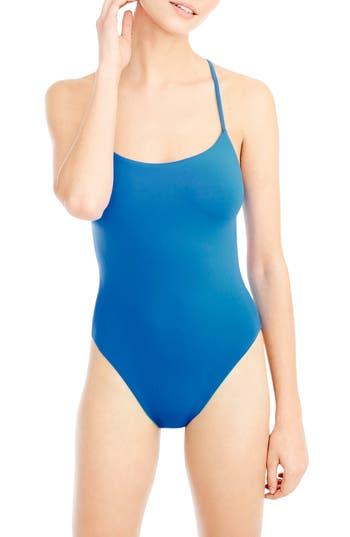 J.crew Reversible One-Piece Swimsuit