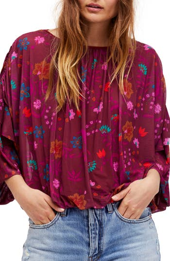 Free People Wildflower Honey Top