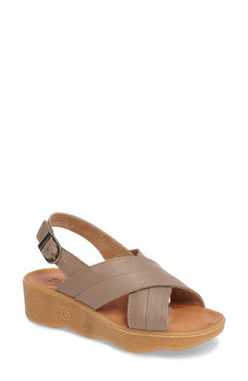 Famolare Chris Cross Wedge Sandal (Women)