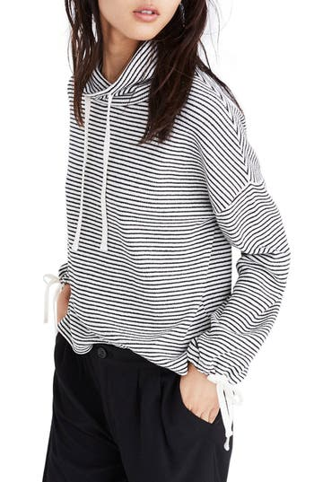 Madewell Stripe Funnel Nec..