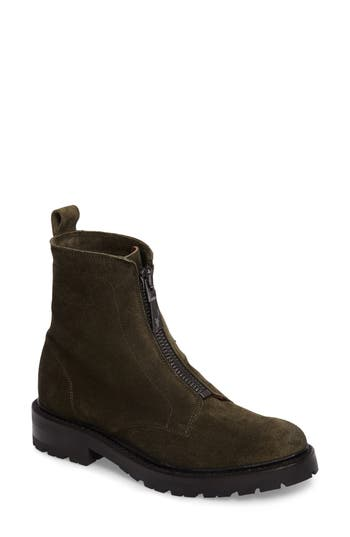 Frye Julie Front Zip Combat Boot (Women)