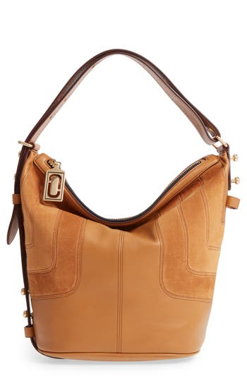 MARC JACOBS The Sling Mod Suede Hobo/Crossbody/Sling Bag