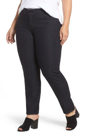 Wit & Wisdom Ab-solution Straight Leg Jeans (Plus Size) (Nordstrom Exclusive)