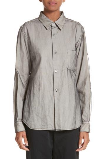 Comme des Garçons Button Front Jacket