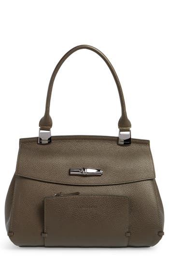 Longchamp Madeleine Leather Satchel