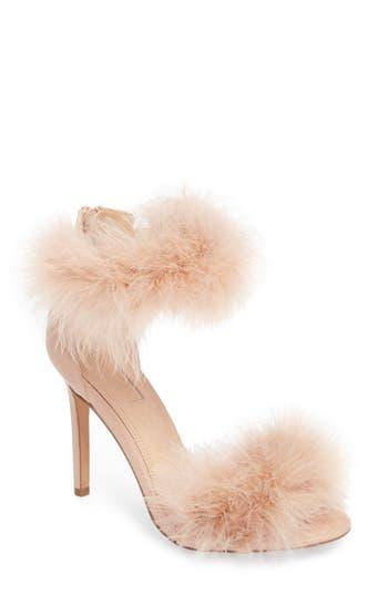 Topshop Feather Strap Sandal (Women)