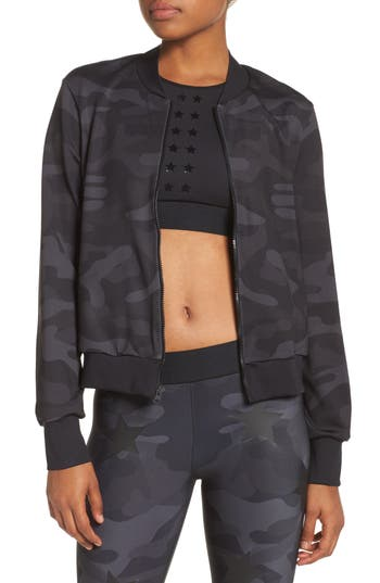 Ultracor Camo Knockout Bomber Jacket