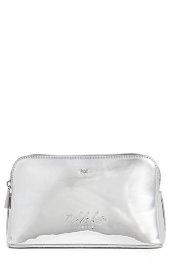 Ted Baker London Lindsay Metallic Cosmetics Case