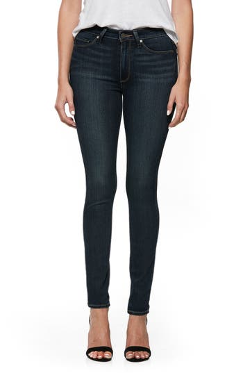 PAIGE Transcend - Hoxton Ultra Skinny Jeans (Nottingham) (Petite)