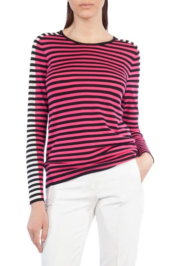 Akris punto Stripe Wool Pu..